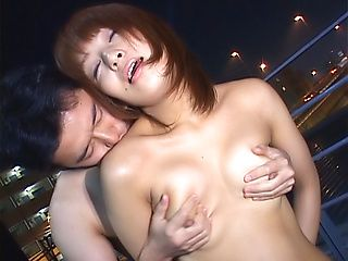 Cum on face for dazzling Asian milf Akane Mochida