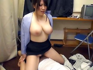 Yummy Japanese wife has sexy melons
