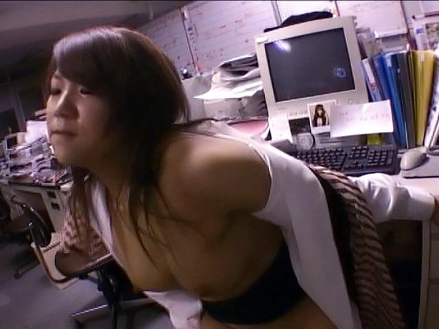 Zestful Asian Teacher with natural tits gets hammered in classroom after giving blowjob