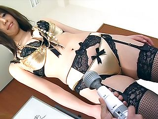 Ai Takeuchi naughty toy porn at work