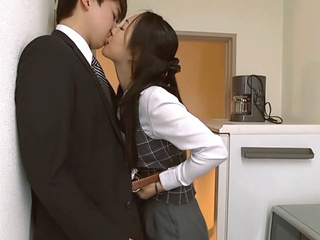 Nao Ogawa naughty Asian milf is an office lady who likes cock