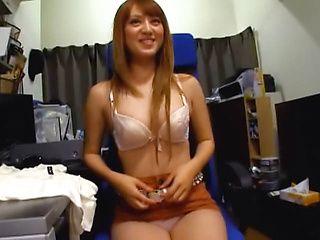 Arousing Asian amateur Christine Kitajima gets tit fuck