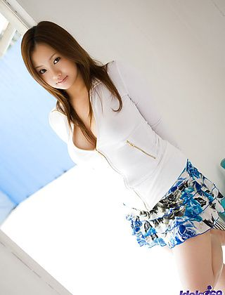 Rika Aiuchi Naughty Asian Model Is A babe In The Making