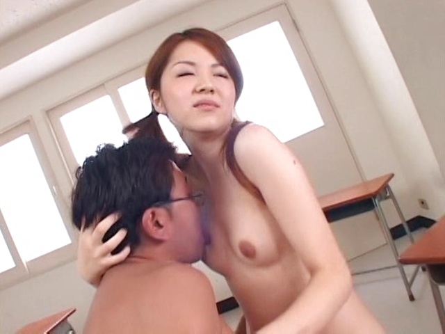 Japanese schoolgirl fucked in exchange for better grades