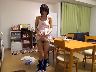 Sexy bimbo Nanami Kawakami blows and fucks in very hardcore manners