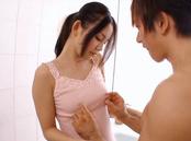 Appetising Asian stunner Emiri Okazaki gets her shaved pussy plowed