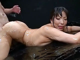 Beauty queen Sankihon NozomiIku gets humped wildly