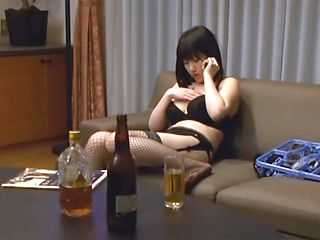 Naughty Asian amateur in lingerie gets  hardcore fucking