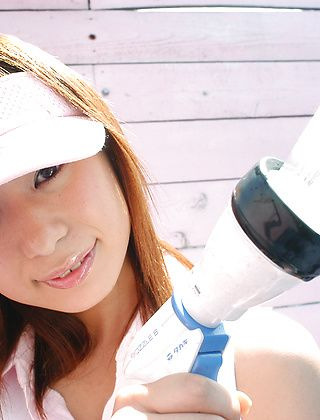 Yuria Yoshinaga Horny Tennis Bunny Shows Her Huge Tits