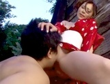 Horny Rin Sakuragi getting nailed in rough outdoor sexasian ass, cute asian}