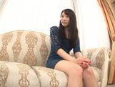Young Japanese girl Misaki Honda enjoys pussy insertion