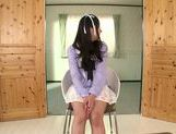 Fascinating long-haired model Kokomi Suzuki gives head picture 13