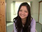 Fascinating long-haired model Kokomi Suzuki gives head picture 15