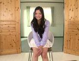 Fascinating long-haired model Kokomi Suzuki gives head picture 6