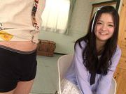 Fascinating long-haired model Kokomi Suzuki gives headfucking asian, hot asian pussy, japanese pussy}