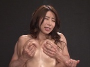 Pleasing tit fetish with sexy Ayumi Shinodaasian wet pussy, horny asian}