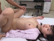Lusty Japanese female doctor Tsukasa Aoi gets fucked by her patientsnude asian teen, japanese pussy, asian wet pussy}