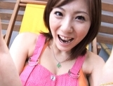 Yuma Asami Lovely Asian doll shows off her sexy body picture 2