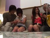 Japanese AV models enjoy an orgy picture 2