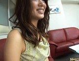 Aya Matsuki Pretty Asian beauty shows off her hot ass