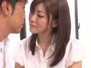 Sensual hot milf Kanan Yazuki having a lovely hard fuck