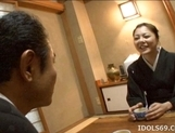 Japanese AV Model Is Fucked Hard And Is Liking It picture 13