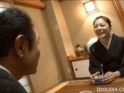 Japanese AV Model Is Fucked Hard And Is Liking It