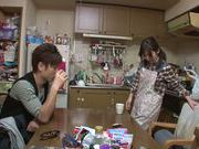 Luscious Japanese milf Saki Mizumi rides dick swallows cum