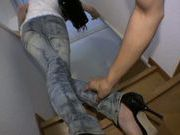 Skinny Asian Anna Saijyou gets pounded really hard