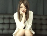 Asian babe Rino Mizusawa gets nailed in threesome picture 12