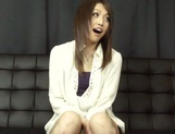 Asian babe Rino Mizusawa gets nailed in threesome picture 15