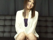 Asian babe Rino Mizusawa gets nailed in threesome