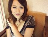 Horny Asian babe Reon Otoha pleases her lascivious kitty