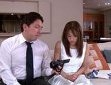 Sexy teen Yuuna Mizumoto gets fucked on a couch