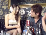 Sexy dress guarantees wild sex for Japanese AV Model