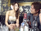 Sexy dress guarantees wild sex for Japanese AV Model picture 15