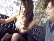 Sexy dress guarantees wild sex for Japanese AV Model