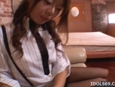 Mio Hiragi Hot Asian babe Gives Great Blow Job picture 6