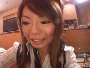 Mio Hiragi Hot Asian babe Gives Great Blow Job