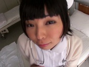 Nasty Nurse Ayase Mashiro gets ravaged by horny patient