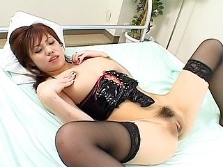 Miu Satsuki Naughty Japanese Model Enjoys Showing Off Her Big Tits