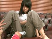 Kinky Japanese teen amateur performs alluring solo actionasian babe, asian schoolgirl}