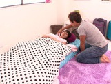 Lusty blowjob scene with young Ruri Narumiya picture 2