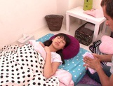 Lusty blowjob scene with young Ruri Narumiya picture 6