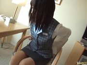 Mona Asamiya Hot Asian babe enjoys showing off her nice ass