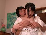 Busty chick with bubble ass Ai Uehara practices hardcore sex picture 11
