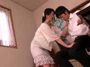 Busty chick with bubble ass Ai Uehara practices hardcore sex