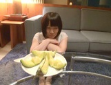 Skinny short-haired teen Yuri Shinomiya gets licked and nailed hard picture 10