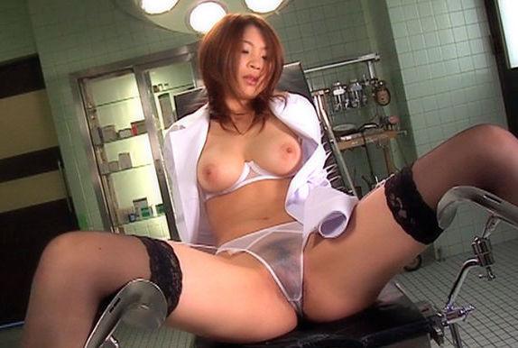 Anna Kousaka Hot Asian babe spreads her legs