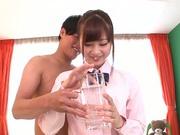 Position 69 scene with hot Maihana Natsu